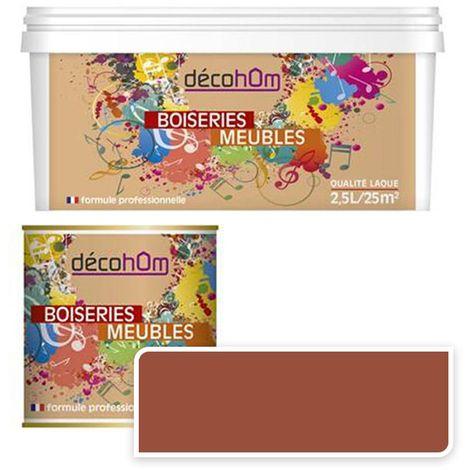 Peinture Murale monocouche couleur Cuivre 0,5Litre MAT