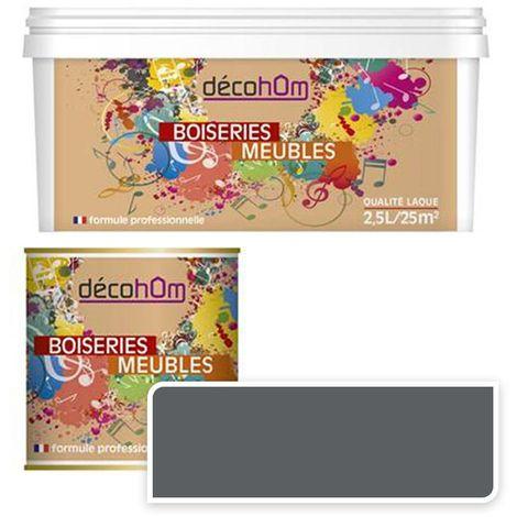 Peinture Murale monocouche couleur Gris 0,5Litre MAT