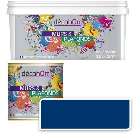 Peinture Murale monocouche couleur Grise 0,5Litre MAT