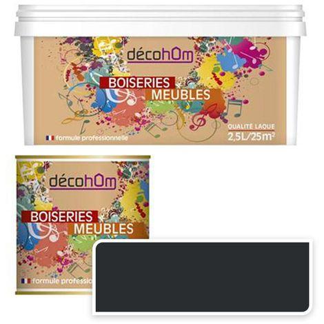 Peinture Murale monocouche couleur Marron 0,5Litre VELOURS