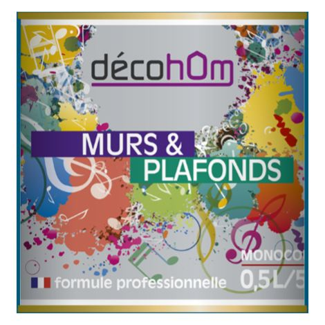 Peinture murale Pétrole DECOHOM S 4050-B