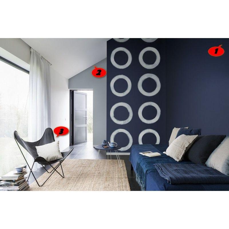 Peinture Murale Sans Odeur Couleur Bleu Nuit Qualité Professionnelle Application Facile Séchage Rapide Madeinnature