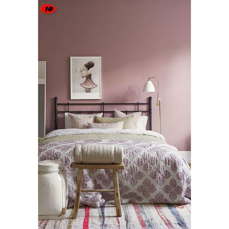 Peinture murale sans odeur /couleur : vieux rose / qualité ...