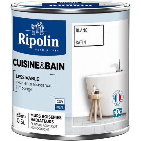 "main image of ""RIP.CUISINE BAIN SAT.0.5L BLANC (Vendu par 1)"""