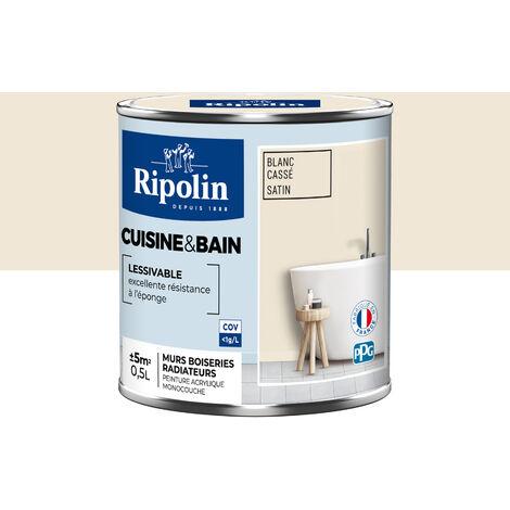 Peinture Murale spéciale Cuisine & Bain, Satin Ripolin