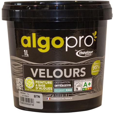 Peinture naturelle bio-sourcée à base d'huile végétale et d'algues idéale pour les murs : Algo Pro velours