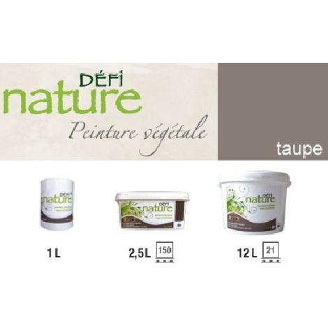Peinture naturelle végétale Taupe Pot (1L)