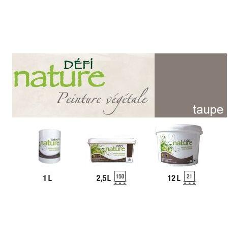 Peinture naturelle végétale Taupe Seau (2.5L)