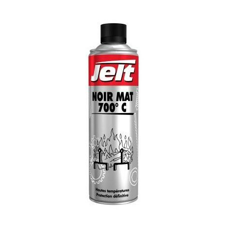 Peinture noir mat 700°C Jelt 005771