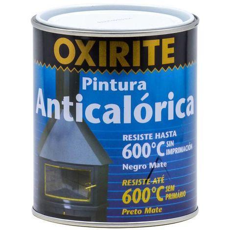 Peinture noir mat anticalórica 600. Oxirite