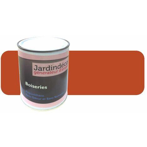Charmant Peinture Orange Pur Pour Meuble En Bois Brut 1 Litre