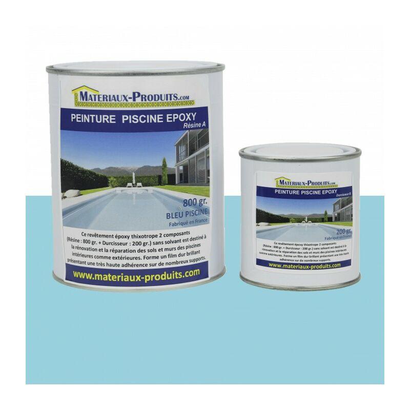 peinture piscine epoxy bleu piscine 1 kg bleu piscine. Black Bedroom Furniture Sets. Home Design Ideas