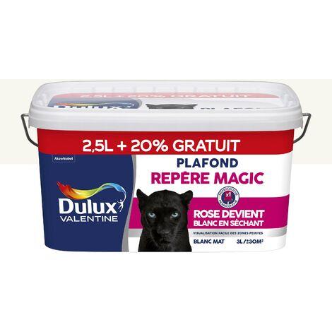 Peinture Plafond Repère Magic Mat Blanc 25 L 20 Gratuit Dulux