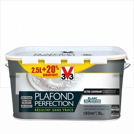 "main image of ""Peinture plafond V33 Plafond perfection blanc mat, 3 l"""