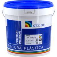 Peinture plastique anti-moisissure blanc mat arc-en-ciel