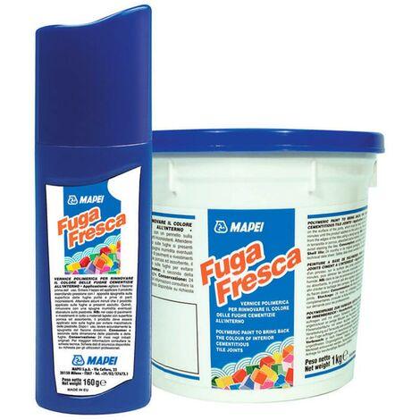 Peinture polymère pour rénover les joints FUGA FRESCA - Le flacon de 160 ml - 113 GRIS CIMENT
