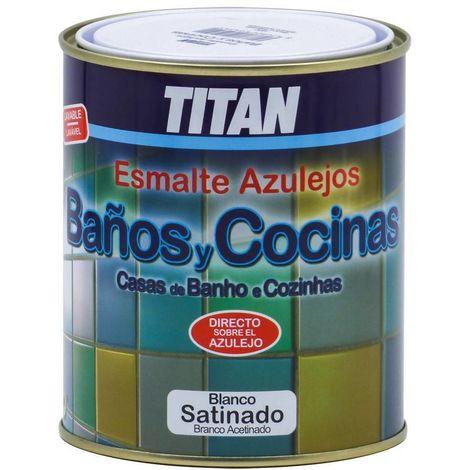 Peinture pour Carreaux de faïence de salles de bains et cuisines Titan