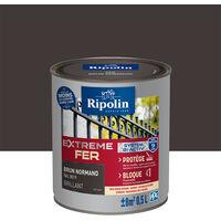 Peinture Pour Fer Extérieur Brillant Brun Normand 025l Ripolin