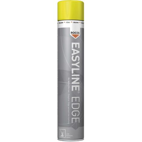 Peinture pour marquage au sol Easyline® EDGE jaune 750 ml Rocol RS47001