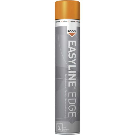 Peinture pour marquage au sol Easyline® EDGE orange 750 ml Rocol RS47005-750 C07282