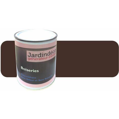 Peinture pour meuble en bois brut 1 litre Brun pâle