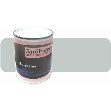 Peinture pour meuble en bois brut 1 litre Gris clair