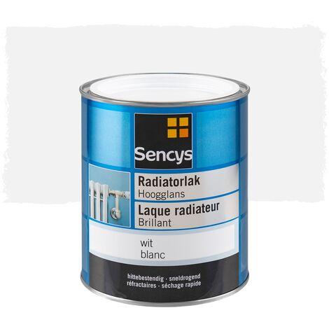 Peinture pour radiateur Sencys - Brillant Blanc - 750ml