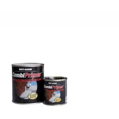Peinture primaire antirouille Combiprimer 3380, teinte gris, boîte de 0,75 litres - Gris - Gris