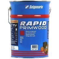 Peinture Primwood Rapide SEIGNEURIE Satin 5L   5 Litres