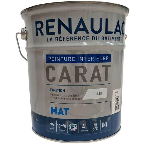 Peinture pro mur et plafond mat 4L RAL au choix