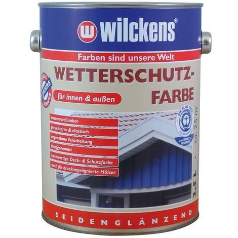 Peinture protection contre les intempéries 2,5 l, blanc