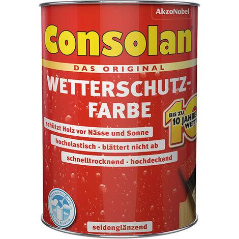 Peinture protection intempéries Consolan blanc 2,5 l