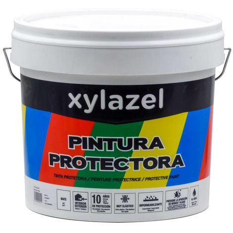 Peinture Protectrice Mate Xylazel 15 L | Blanc