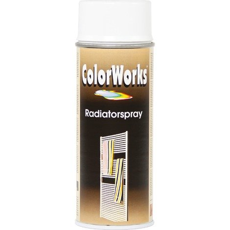 Peinture radiateur aérosol