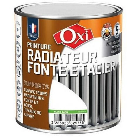 Peinture radiateur fonte 0,5L - plusieurs modèles disponibles