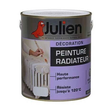 Peinture radiateur glycéro blanc satiné 0.5L