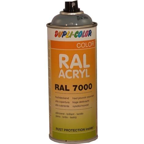 "main image of ""Peinture RAL ACRYL 7000 GRIS brillant 400 ML DUPLICOLOR - MO349690A"""