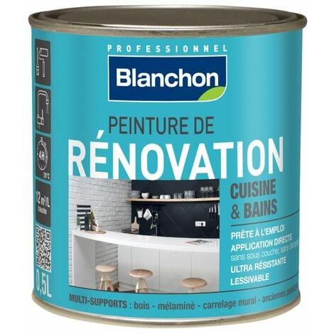 Peinture rénovation cuisine & salle de bain 0,5L Gris clair