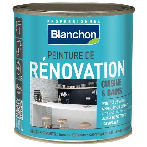 Peinture rénovation cuisine & salle de bains BLANCHON 0,5L