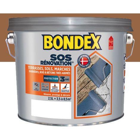 Peinture Rénovation Terrasses, Mat Bondex