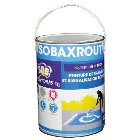 Peinture routière 3L SOBAXROUT - plusieurs modèles disponibles