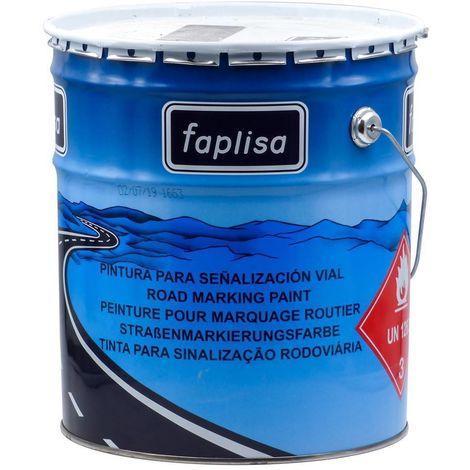 Peinture routière acrylique blanche Faplisa 25 kg