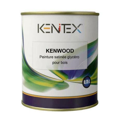 Peinture satinée glycéro pour bois KENITEX Kenwood - RAL 7040 gris - 0,75L