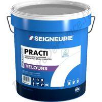 Peinture SEIGNEURIE Practi Velours BLANC 15L   15 Litres
