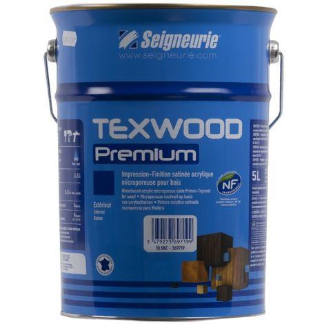 Peinture Seigneurie Texwood Premium Blanc 5l 30584bc05l
