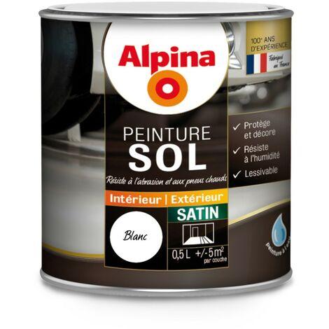 Peinture sol Alpina satin 0,5L