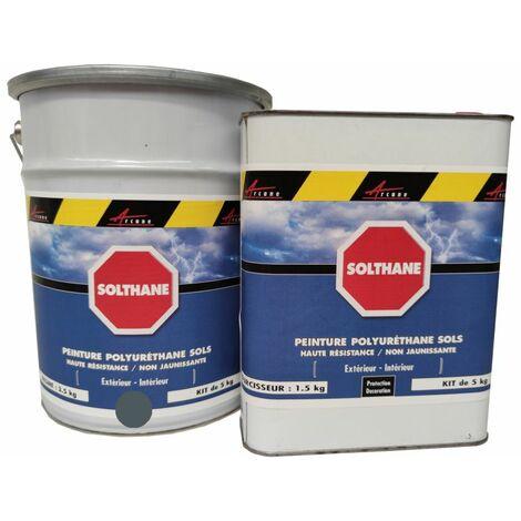 Peinture Sol Béton - Peinture Extérieur Polyuréthane - Haute résistance UV - Non jaunissante - SOLTHANE