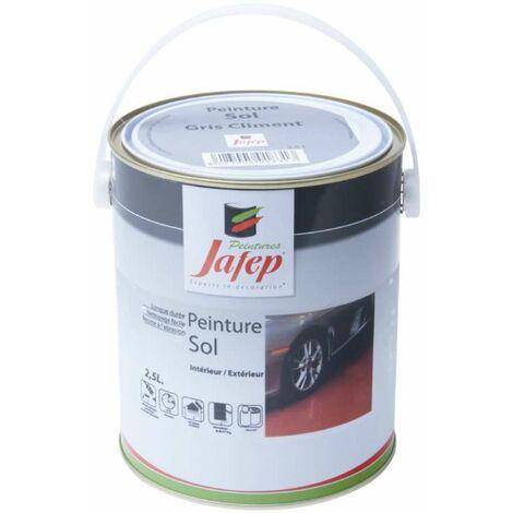 Peinture sol gris ciment Jafep 2,5 L