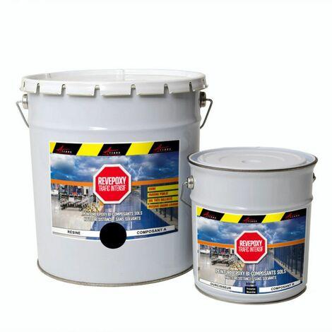 PEINTURE SOL : Résine Epoxy - Revêtement Sol Industriel et Sol Béton, usine, parking - REVEPOXY TRAFIC INTENSIF