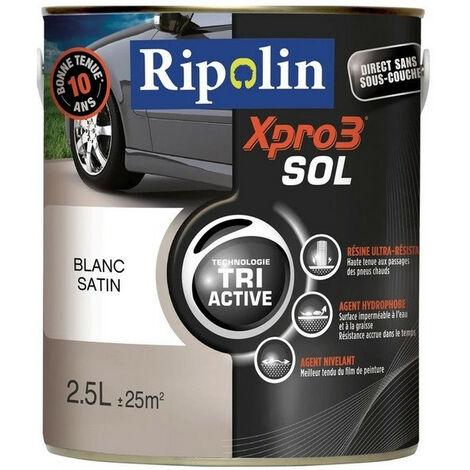 Peinture sol satin 2,5L RIPOLIN - plusieurs modèles disponibles